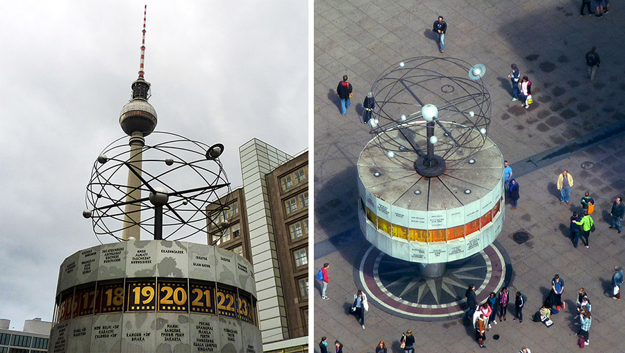 berlin world time clock
