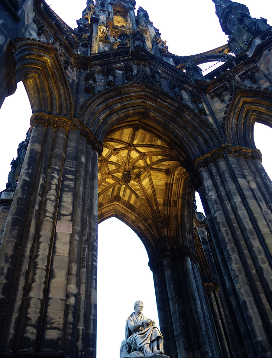 edimbourg scott monument