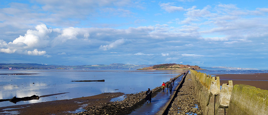 edimbourg cramond beach