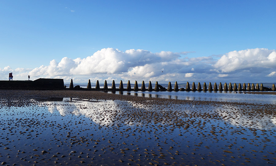 edimbourg cramond beach