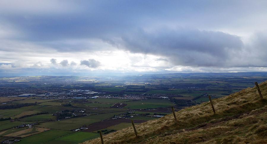 edimbourg pentlands hills