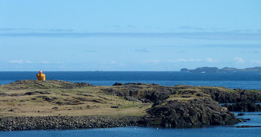 islande fjord phare