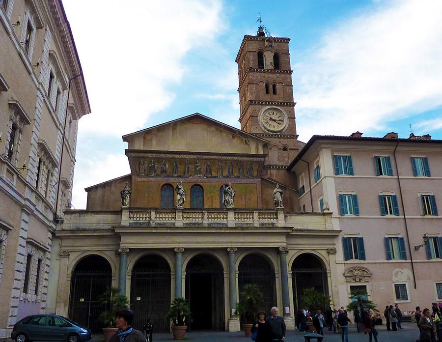 rome basilique trastevere