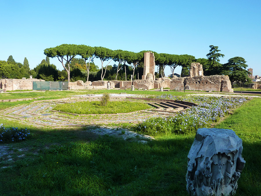 rome fontaine domus flavia