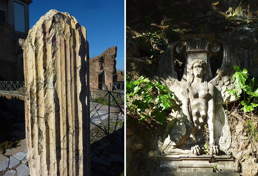rome forum marbre jaune