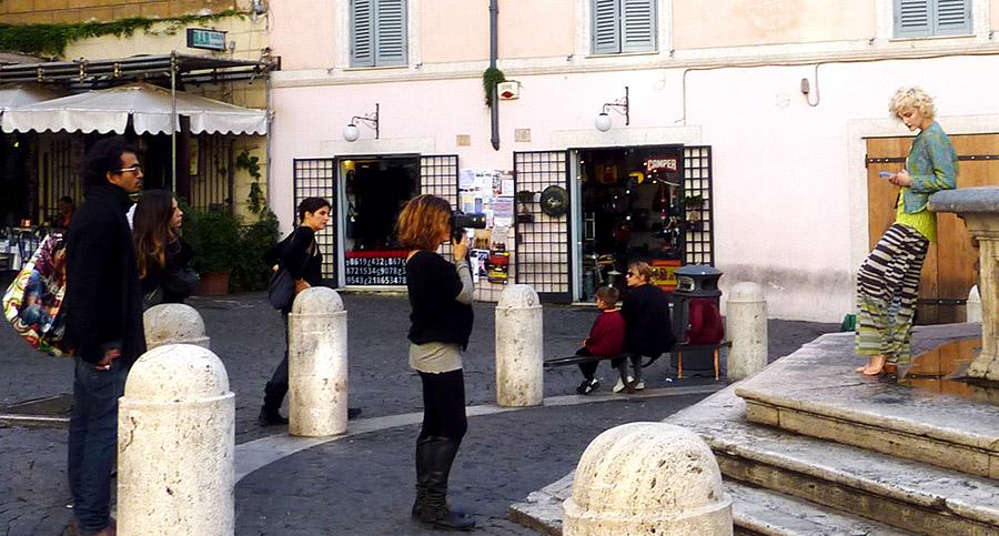 rome piazza madonna dei monti-