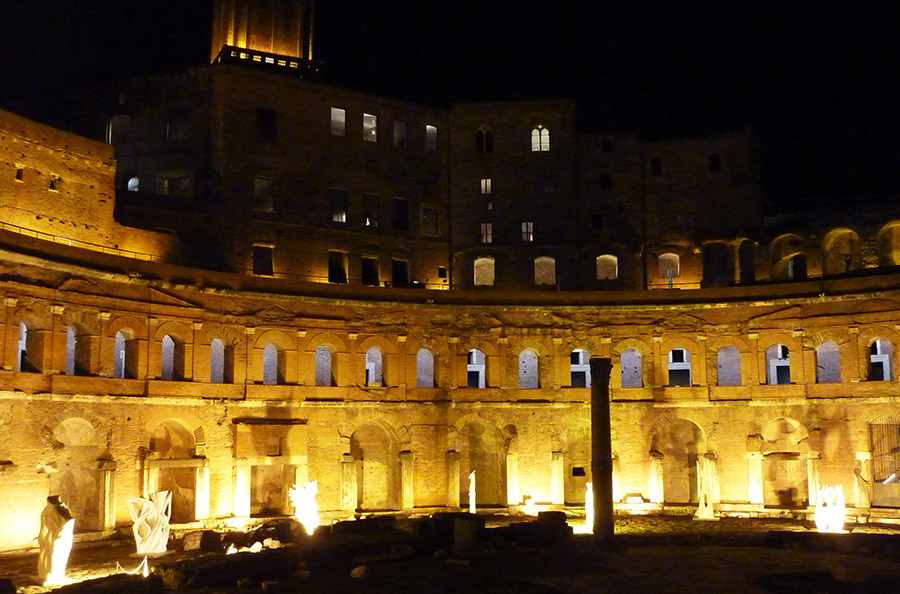 rome marché trajan