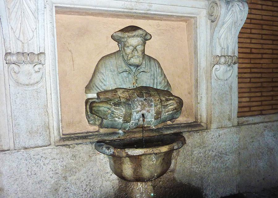 rome statue parlante