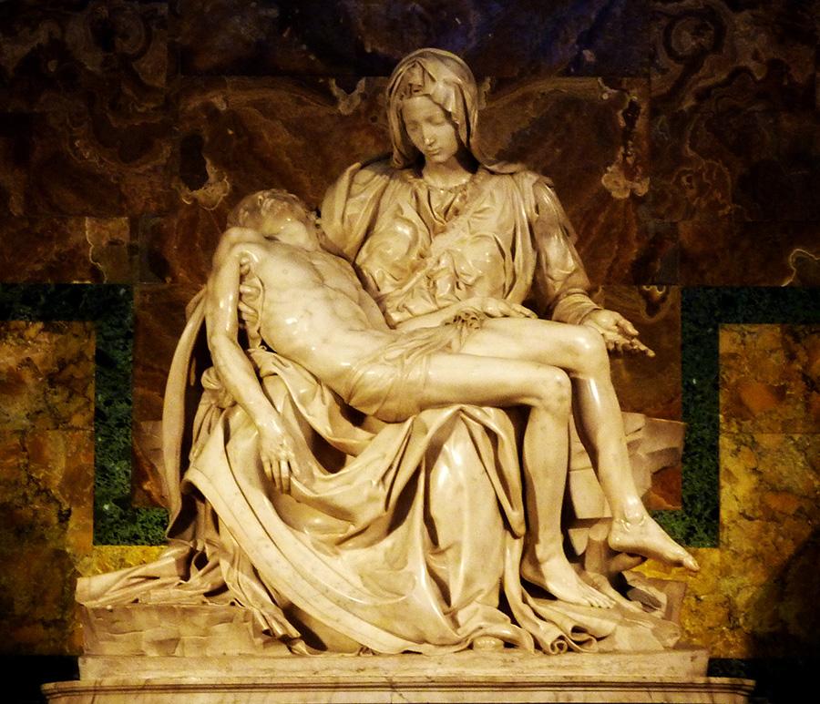 rome vatican basilique saint-pierre pieta