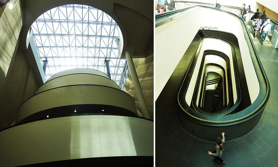 rome vatican escalier entree musee