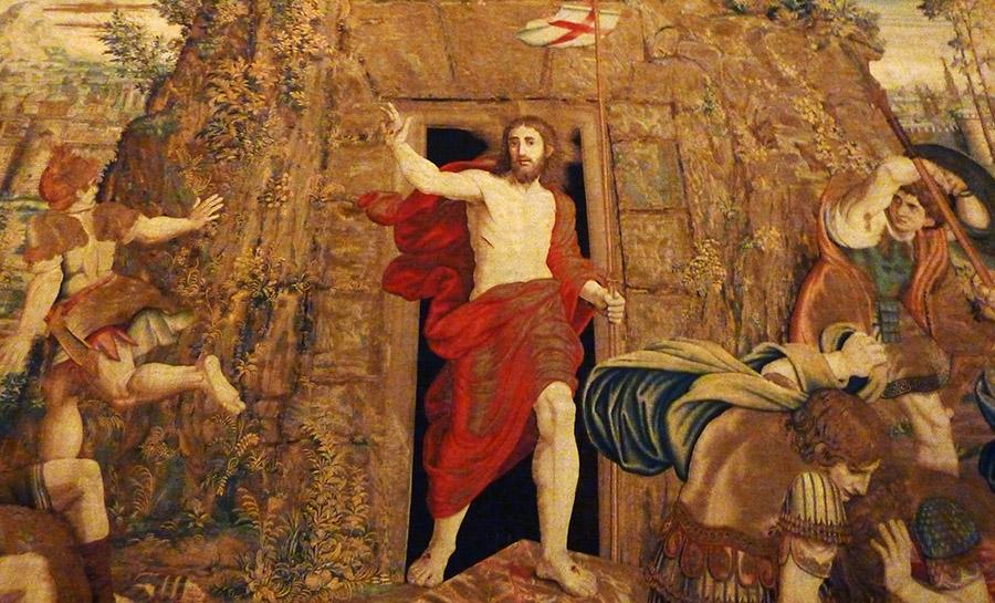 rome vatican musee jesus