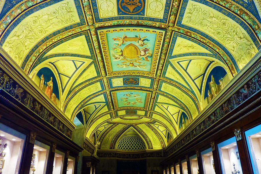 vatican musee plafond