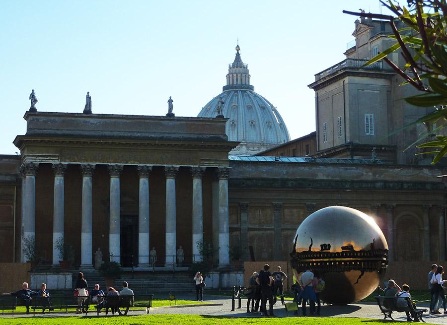 rome vatican sphere