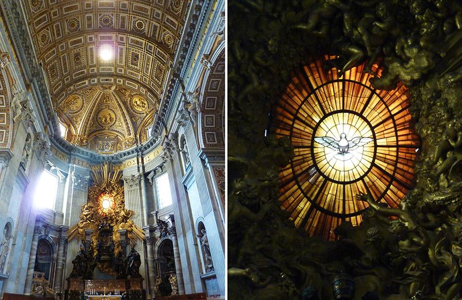 rome vatican choeur basilique saint-pierre