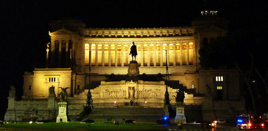 rome monument victor emmanuel