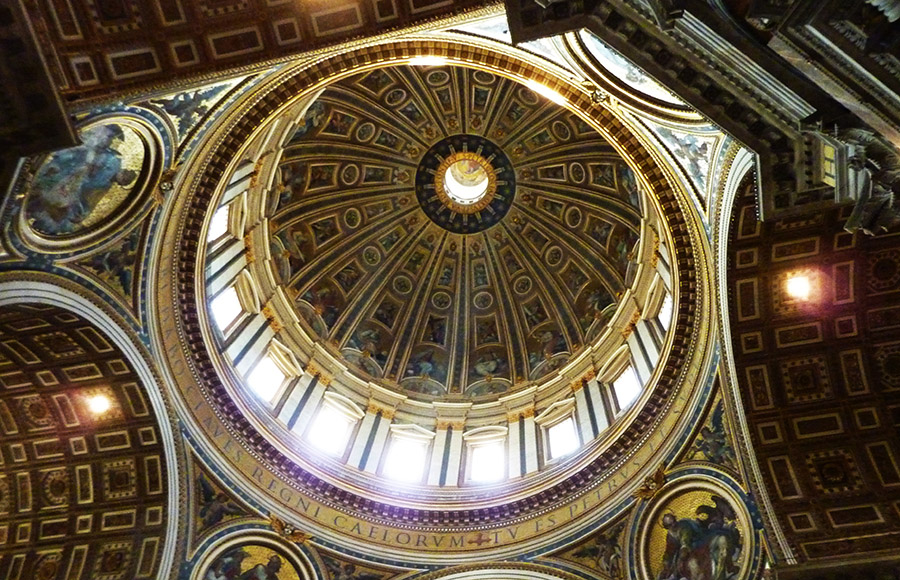 vatican dome basilique saint-pierre