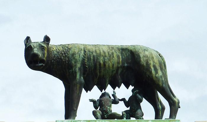 rome louve romulus remus