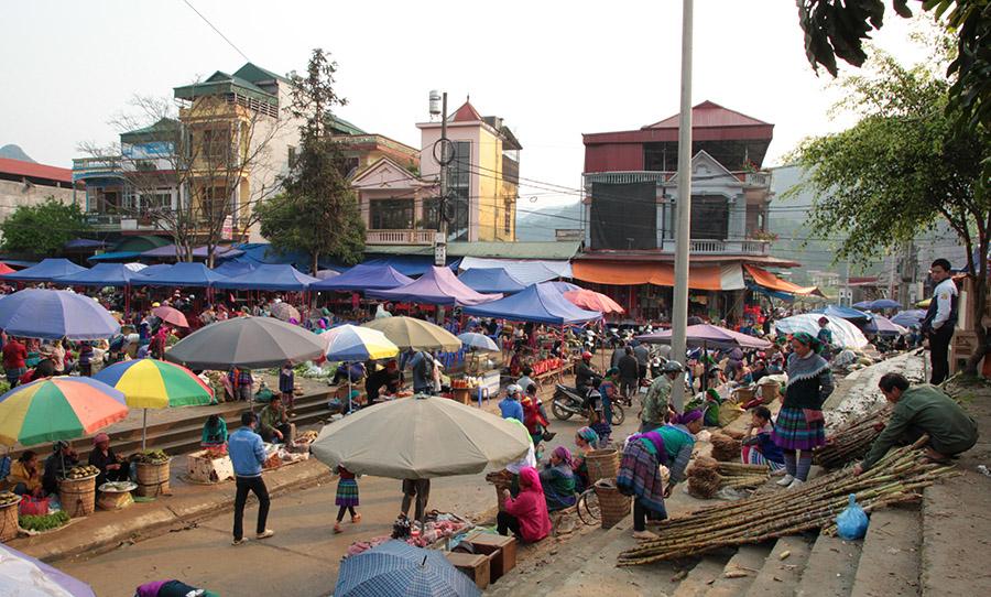 vietnam bac ha marche