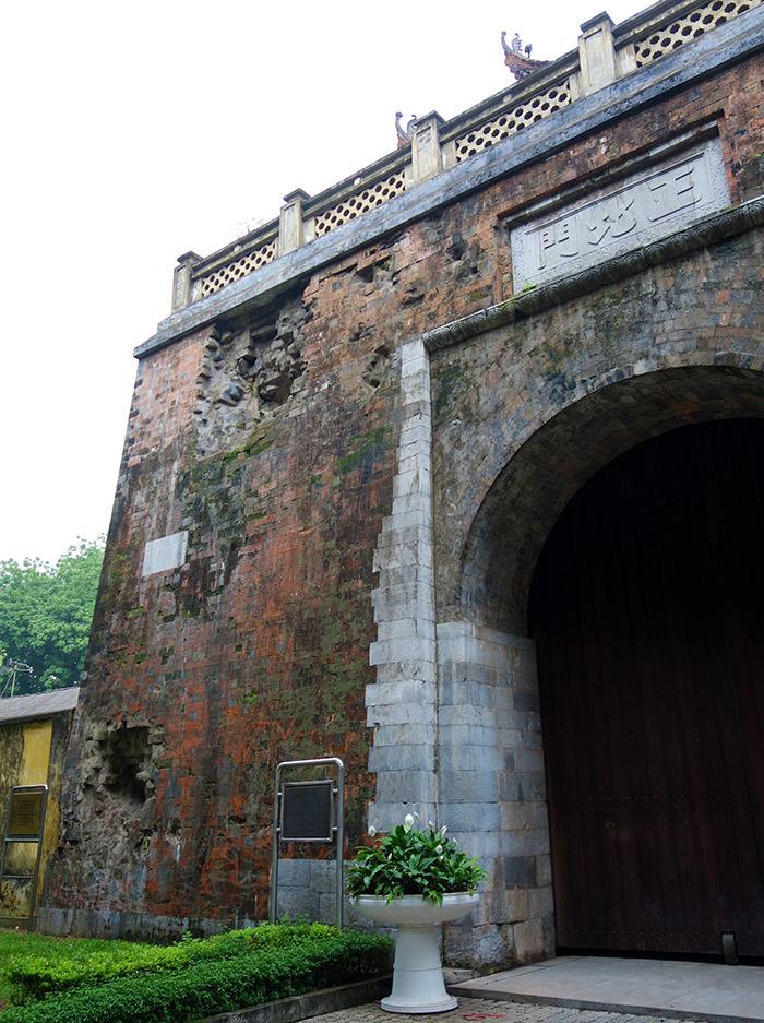 vietnam hanoi citadelle porte nord