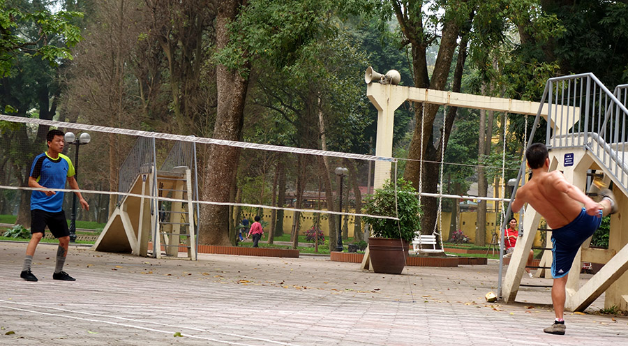 vietnam hanoi dacau sport