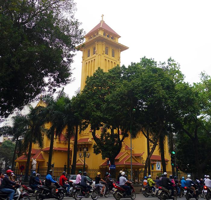 vietnam hanoi eglise martyrs