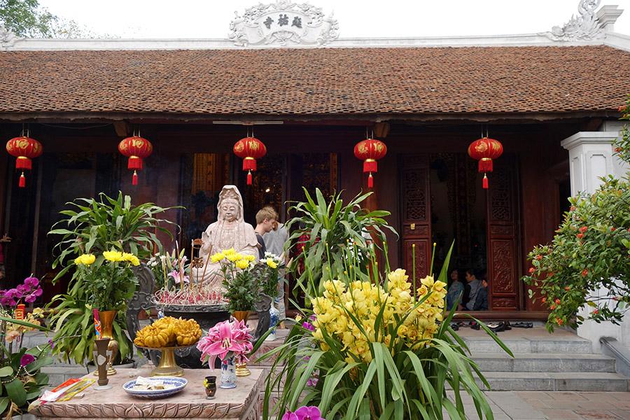 vietnam hanoi pagode pilier unique