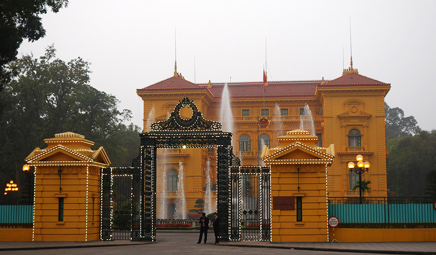 vietnam hanoi palais presidentiel