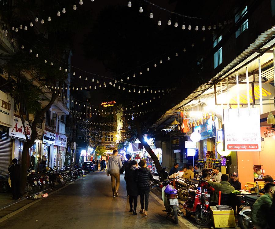 vietnam hanoi rues