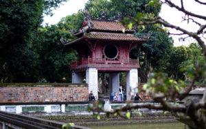 vietnam hanoi temple litterature