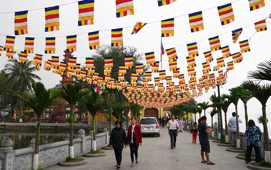 vietnam hanoi tran quoc