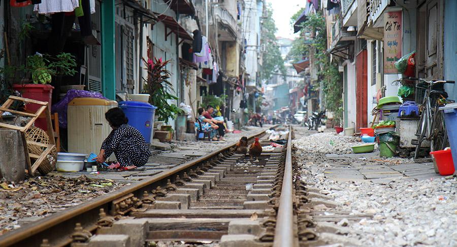 vietnam hanoi voie ferree
