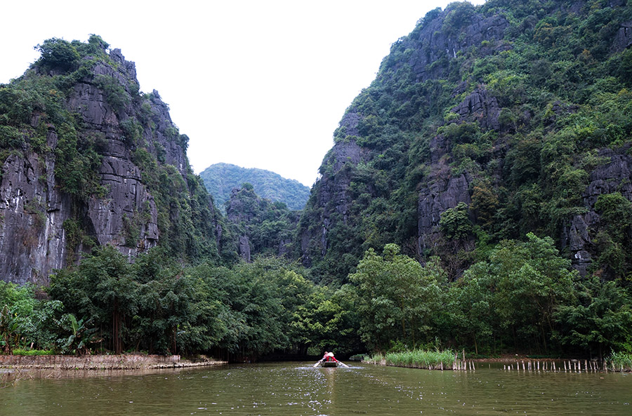 vietnam tam coc barques