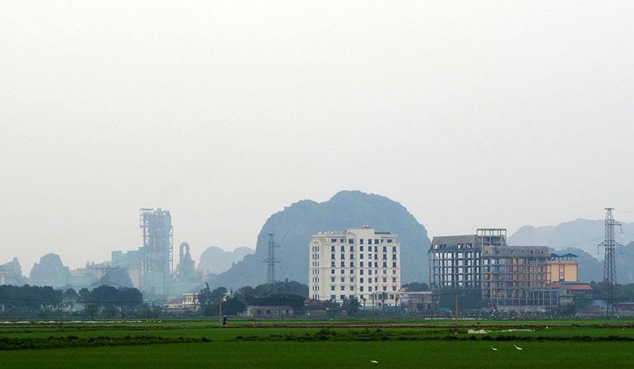 vietnam tam coc usine ciment
