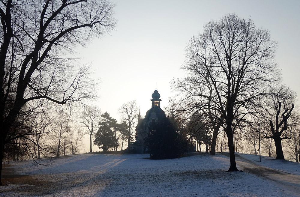 prague letna park pavillon Hanavsky