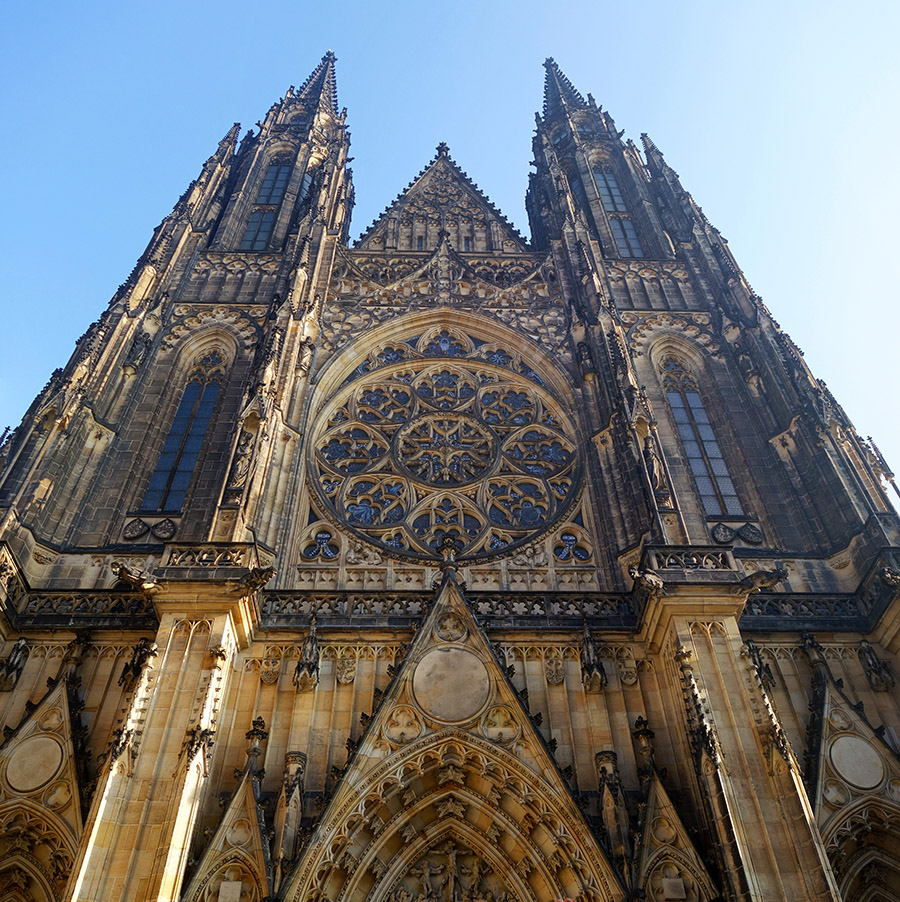 prague cathedrale st-guy
