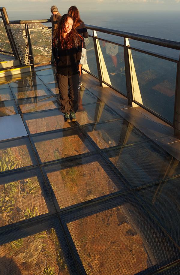 madere cabo girao falaise skywalk