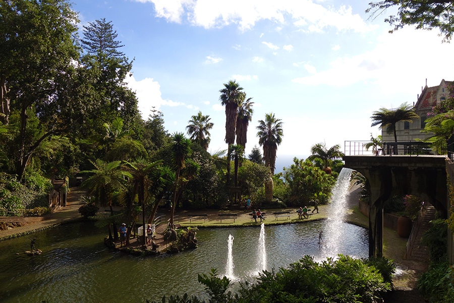 monte palace tropical garden madere funchal jardin