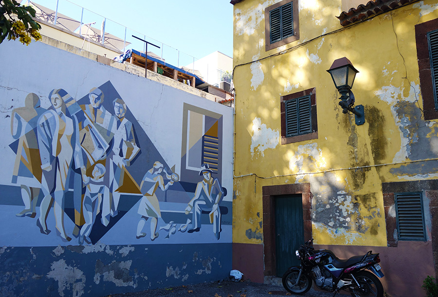 funchal madere street art rues