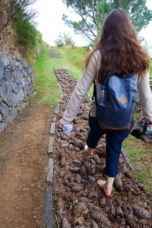 madere jardim atlantico barefoot walk