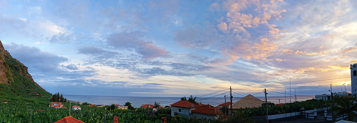 madere madalena do mar panorama