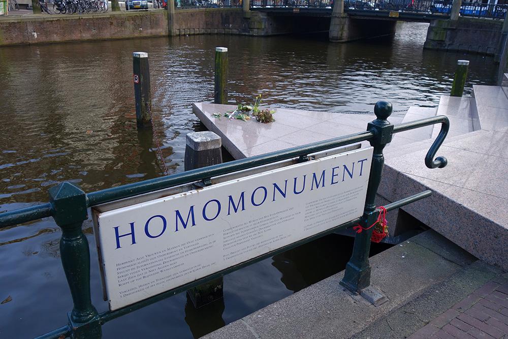 amsterdam homosexuel homo gay monument