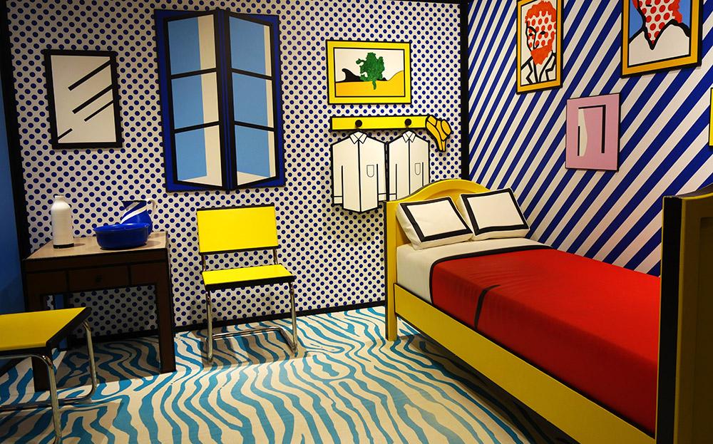 amsterdam moco museum roy lichtenstein van gogh