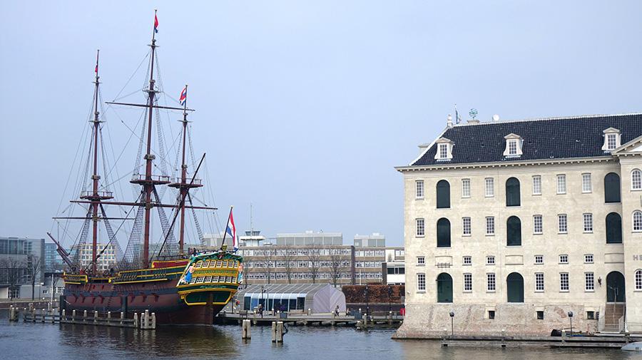amsterdam musee maritime bateau navire