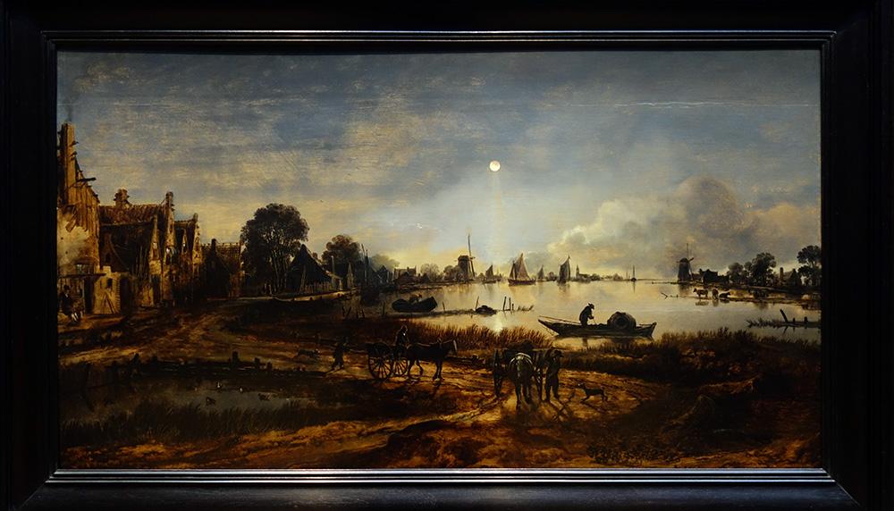 amsterdam rijksmuseum musee museum aernoudt neer rivier de nuit