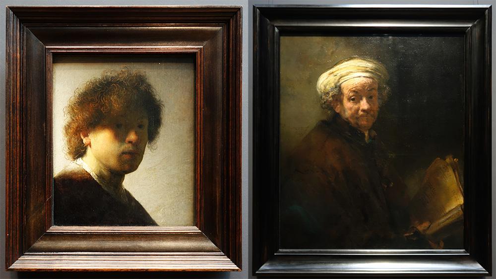 amsterdam rijksmuseum musee museum rembrandt autoportrait