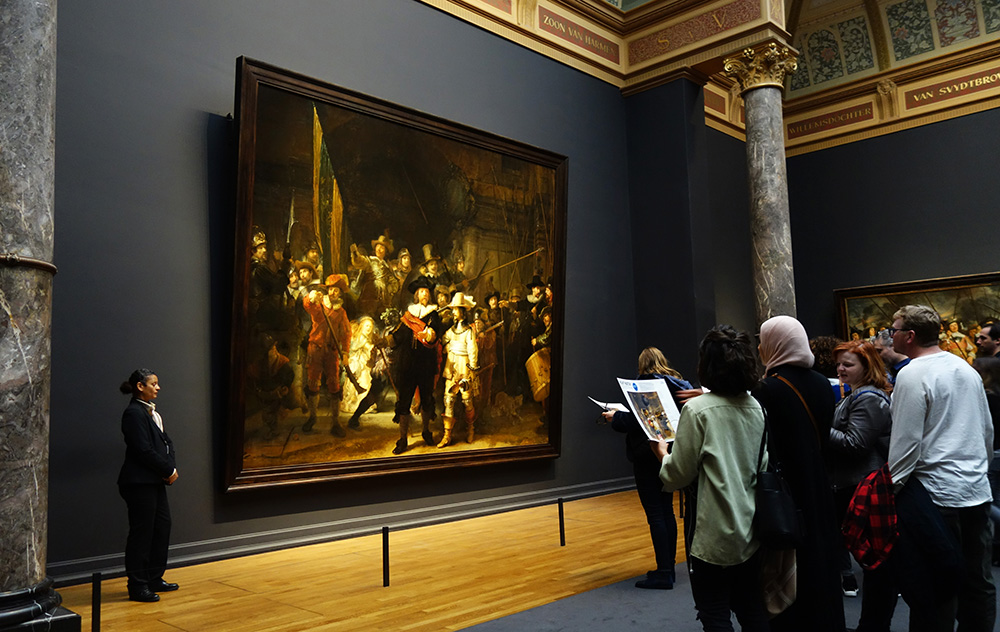 amsterdam rijksmuseum musee museum rembrandt ronde de nuit