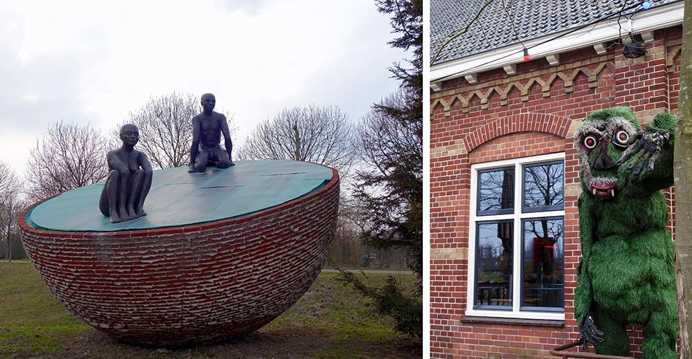 amsterdam westerpark statue pacific