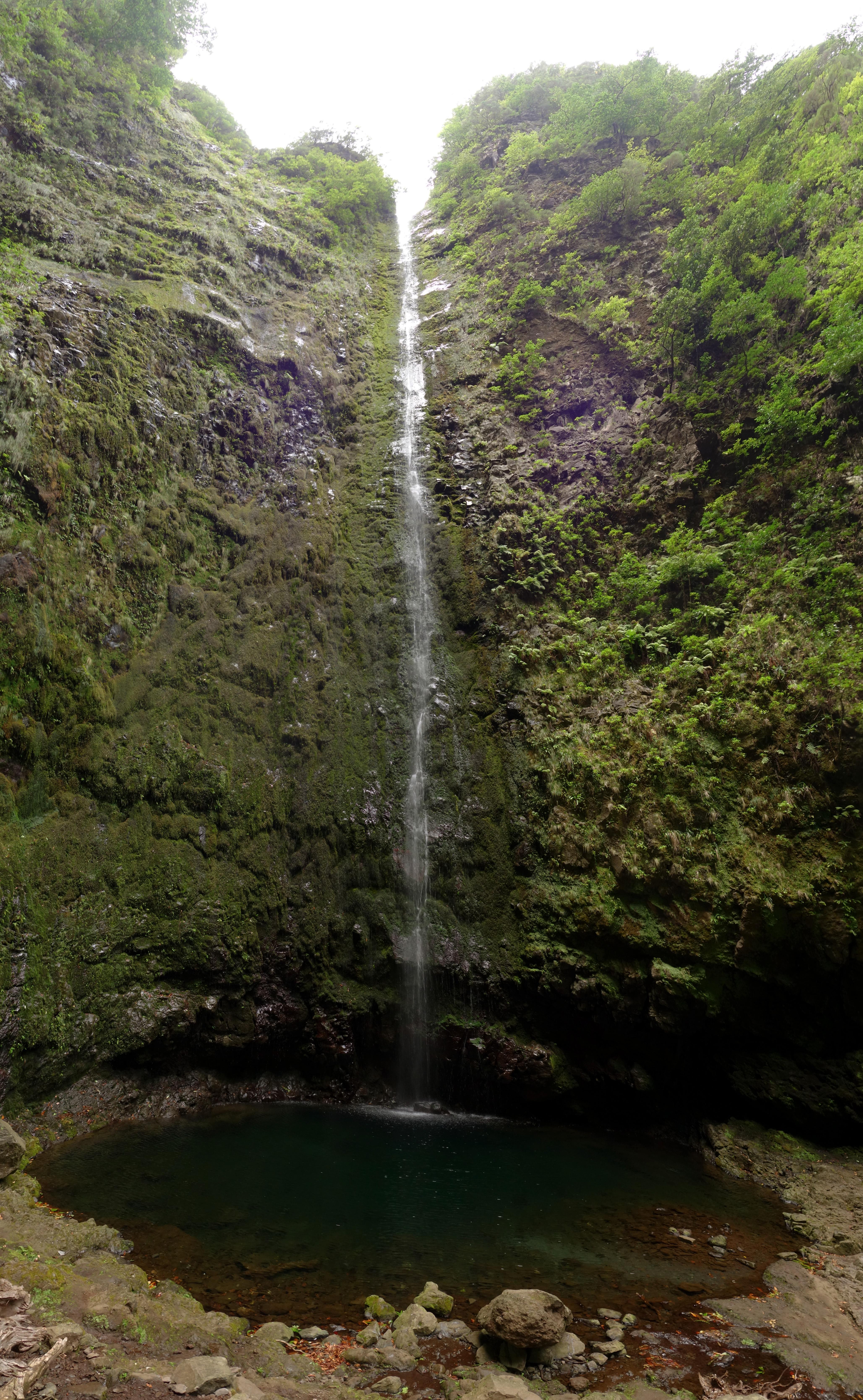 madere caldeirao verde randonnee cascade