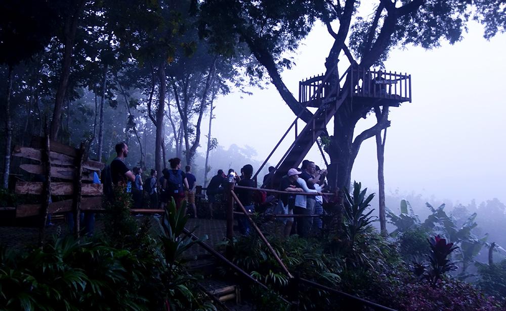 Puthuk Setumbu borobudur temple nirwana sunrise