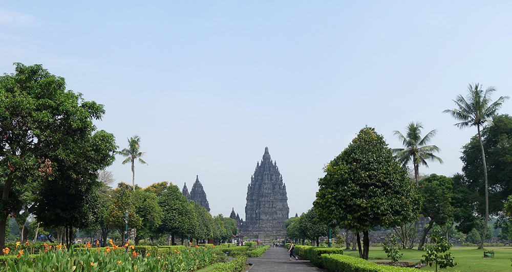 indonesie temple prambanan statue